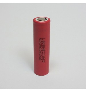 LG HE2 (INR18650HE2) 2500mAh 3.7v 18650 IMR High Drain 20A/35A Battery (Flat Top)