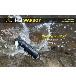 XTAR H3 Warboy Headlamp