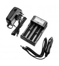 XTAR SV2 ROCKET Ultra Fast Li-ion / IMR / Ni-MH Battery Charger (0.25A / 0.5A / 1A / 2A)