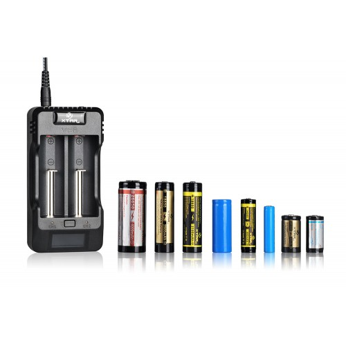 Xtar Vp2 Dual Bay Multi Voltage Li Ion Imr Battery Charger