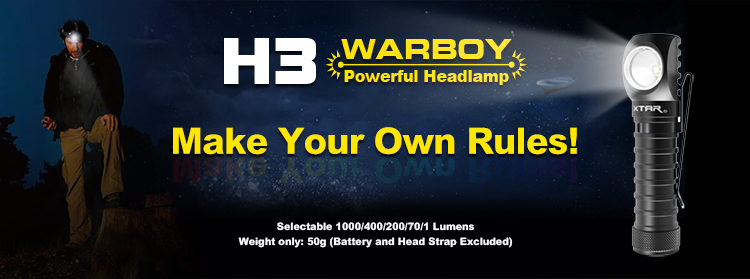 XTAR H3 Warboy Head Torch