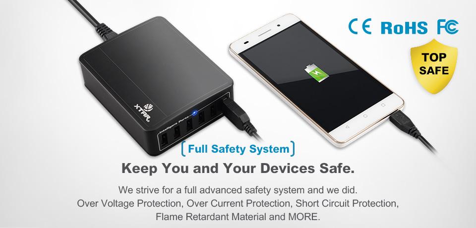 Xtar U1 SIX-U 6-Port USB Charger